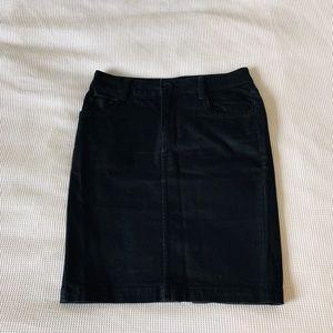 H&M denim midi skirt